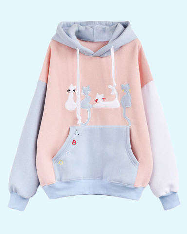 cat hoodies