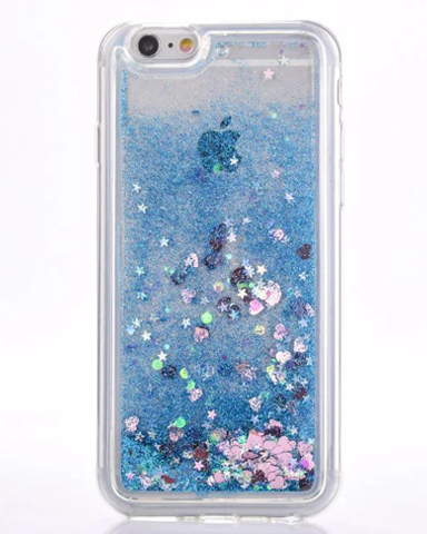 dynamic glitter iphone case