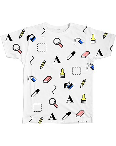 Graphic Tee - Art Tools Tee