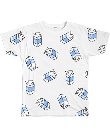 Graphic Tee - Milk Pattern Tee