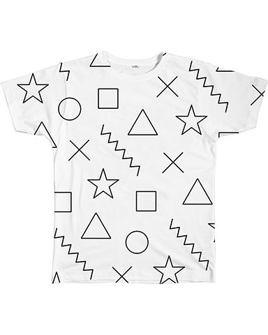 Graphic Tee - Shapes Tee