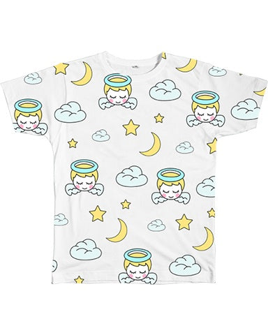 Graphic Tee - Sleepy Angel Tee