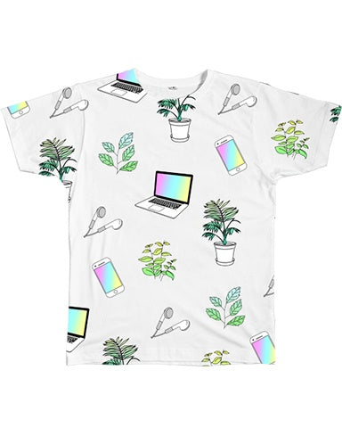 Graphic Tee - Tech Plants Tee