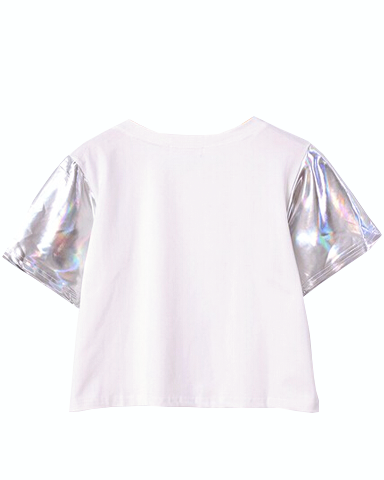 Holographic Sleeve Tee