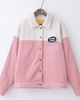 Limited Fluffly Block Color Jacket