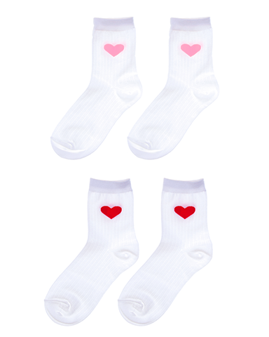 Lovely Heart Socks