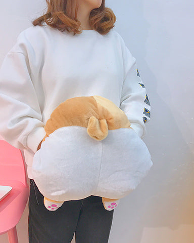 Puppy Booty Pillow