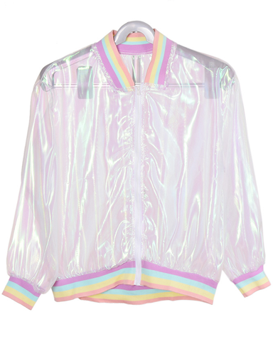 FREE! Rainbow See Through Jacket