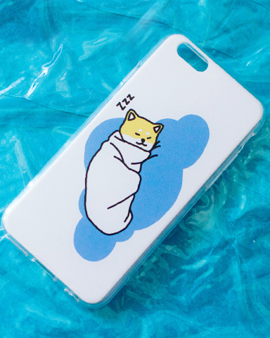 Do not disturb burrito doge iphone case