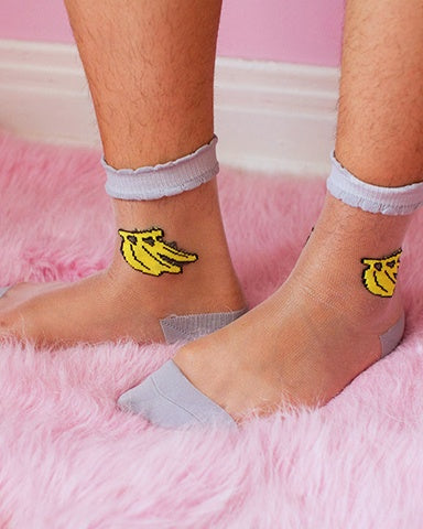 Banana Mesh Socks