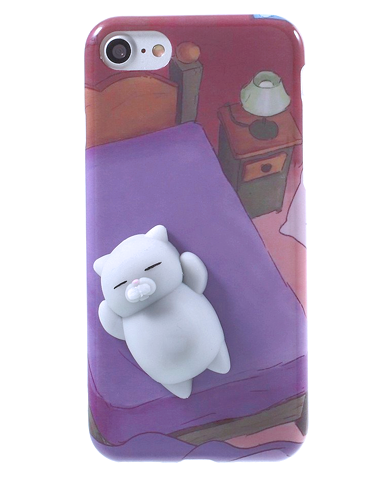 Squishy Cat Belly Phone Case : FREE! Squishy Cat and Seal iPhone Cases - INU INU