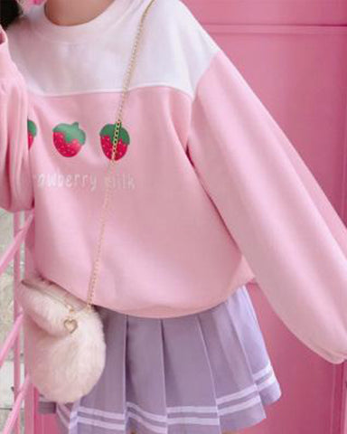 Strawberry Milk Sweater