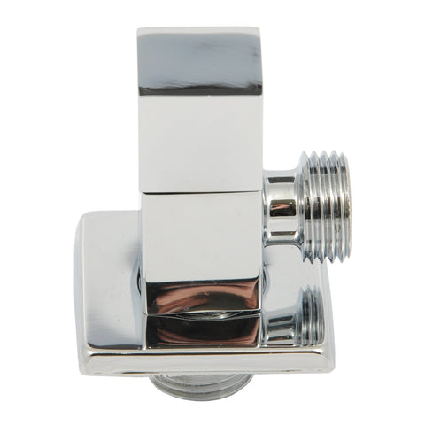 GROHIT Exposed Square Tap, Shut Off Valve, On/Off Tap, 15mm