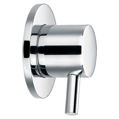 GROHIT Concealed Round Tap, Shut Off Valve, On/Off Tap, 15mm