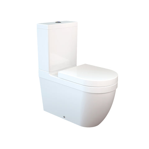Daria Closed Couple Combined Bidet Toilet With Soft Close Seat