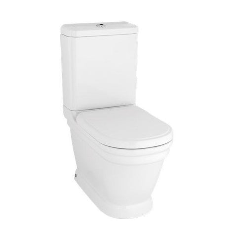 Efes Antique Closed Couple Combined Bidet Toilet With Soft Close Seat