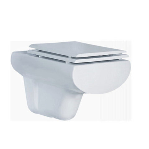 Esen Wall Hung Combined Bidet Toilet With Soft Close Seat