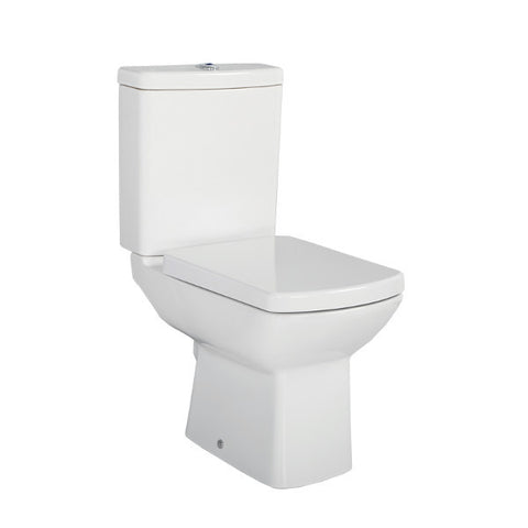 Laura Open Back Combined Bidet Toilet With Soft Close Seat