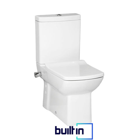 Laura Integrated Closed Couple Combined Bidet Toilet With Soft Close Seat