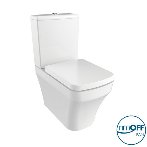 Lima RIMLESS Closed Couple Combined Bidet Toilet With Soft Close Seat
