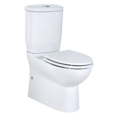 Mini BTW Short Projection Combined Bidet Toilet With Soft Close Seat