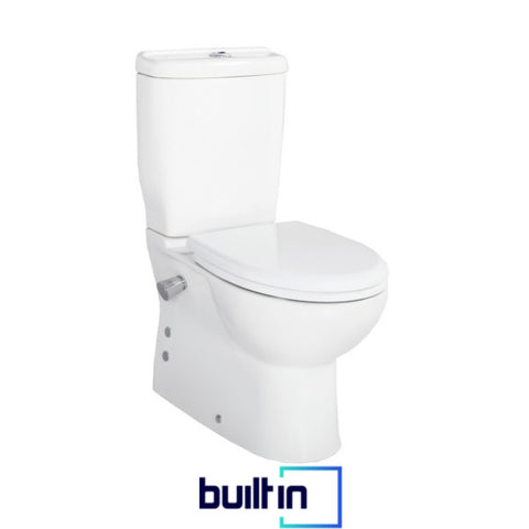 Mini Integrated Short Projection Combined Bidet Toilet With Soft Close Seat