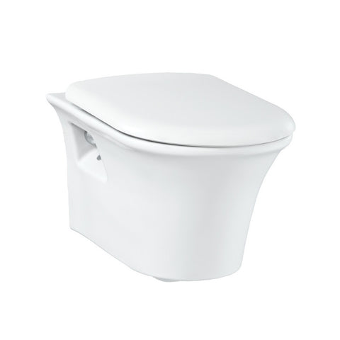 Moon Wall Hung Combined Bidet Toilet With Soft Close Seat
