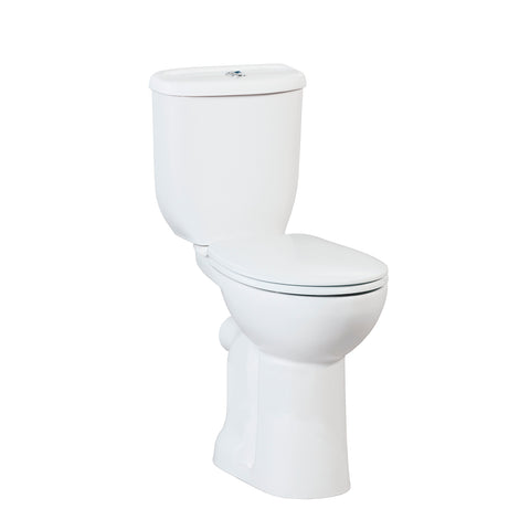 Prem Comfort Height Closed Couple Combined Bidet Toilet With Soft Close Seat
