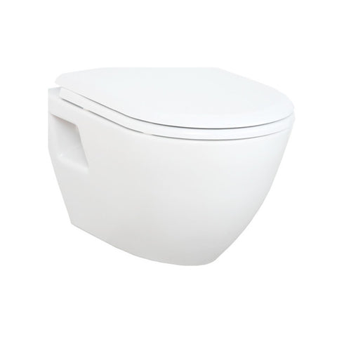 Short Projection Wall Hung Combined Bidet Toilet With Soft Close Seat