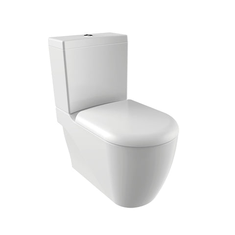Stor XXL Closed Couple Combined Bidet Toilet With Soft Close Seat