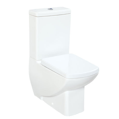 Tuscany Closed Couple Combined Bidet Toilet With Soft Close Seat