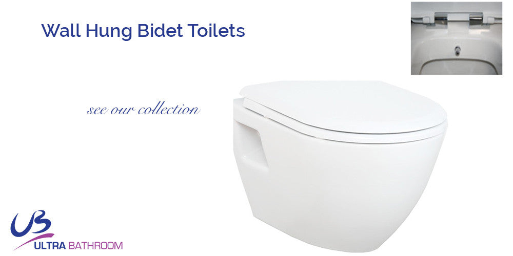 Wall Hung Bidet Toilets