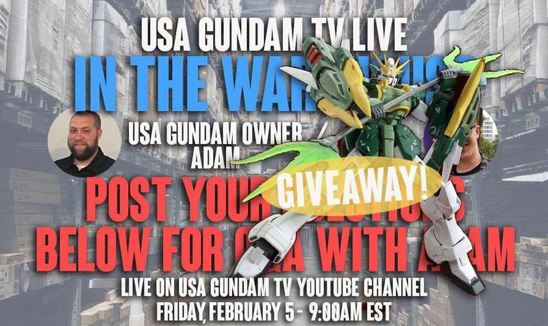 USA Gundam TV! Live in the Warehouse Ep.16
