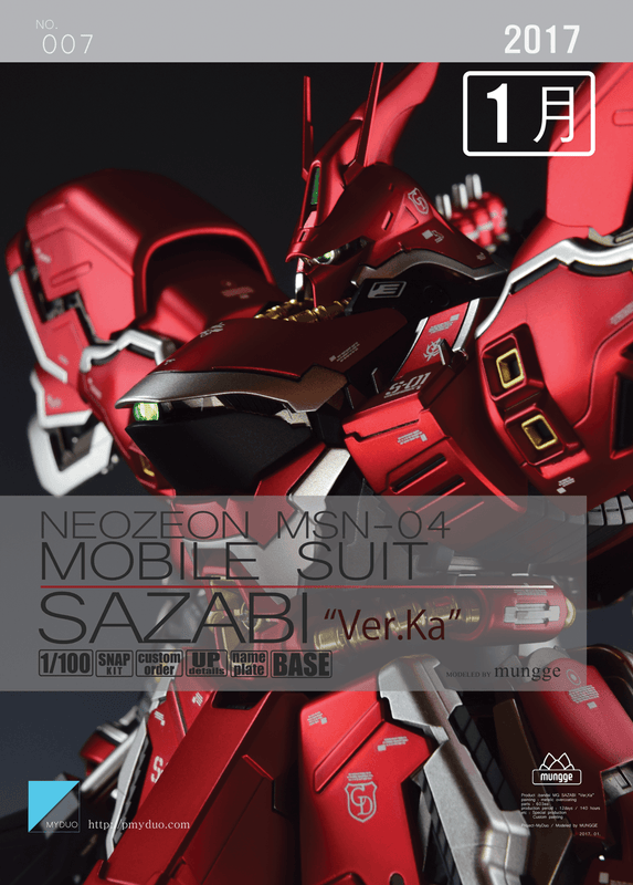 MG 1/100 Sazabi Ver Ka - Painted Build