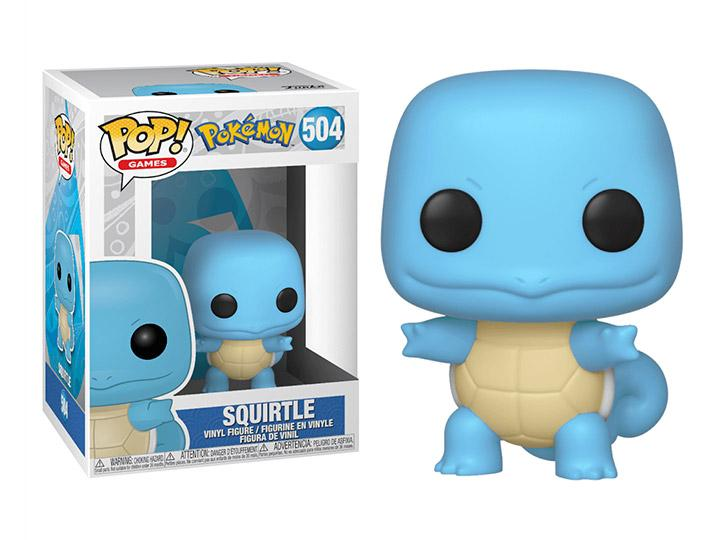 Pop! Games: Pokemon - Squirtle W/ Pop Protector