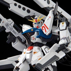 Pre-Order MG 1/100 GUNDAM F91 VER. 2.0 BACK CANNON TYPE & TWIN VSBR SET UP TYPE PLASTIC MODEL