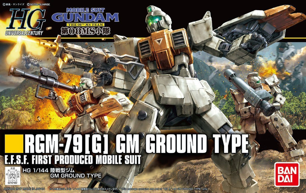 "GM Ground Type ""MS Gundam: 08th MS Team"", Bandai HGUC 1/144"