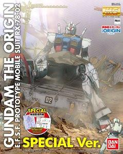MG 1/100 RX-78-02 Gundam (Gundam The Origin) Special Edition