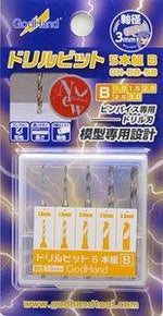 Godhand DRILL BIT SET B SET OF 5