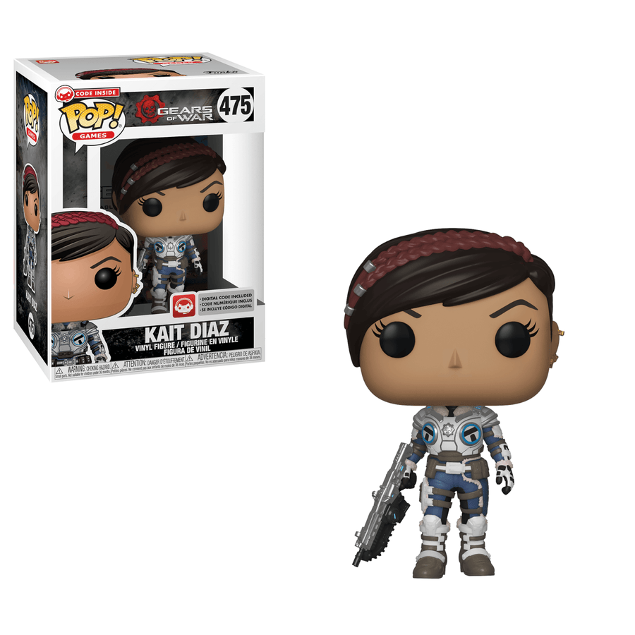 Funko Pop! Games: Gears Of War (S3) - KAIT W/ Pop Protector