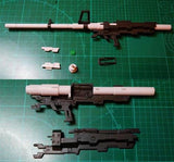 Magictoys MS Weapon set sniper rifle submachine gun for MG 1/100 Gundam.