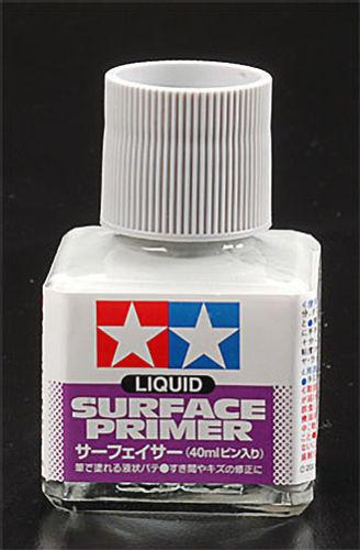 Tamiya Liquid Surface Primer (40ml Bottle)