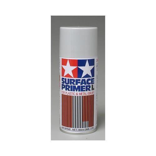 Tamiya Large Surface Primer Gray (180ml Spray)