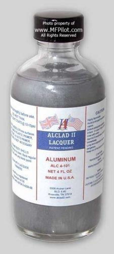 ALC-4101 4oz. Bottle Aluminum Lacquer