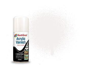 MATT ACRYLIC VARNISH SPRAY - Humbrol 150ml Aerosol #6049