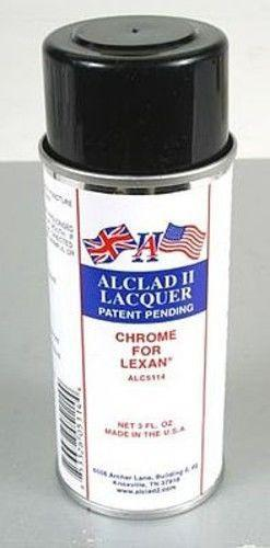 Alclad II 3oz. Spray Chrome Lacquer for Lexan