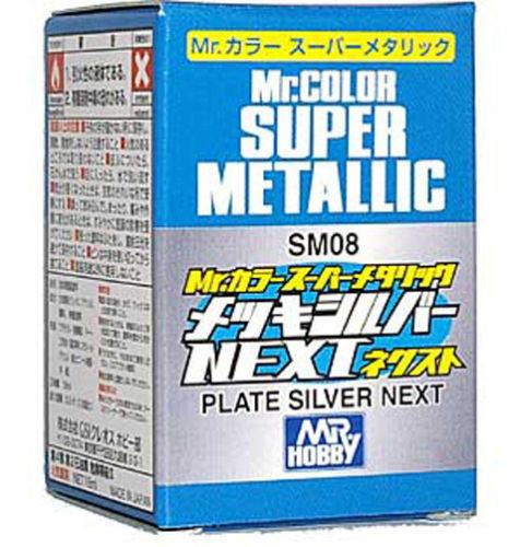 Mr Color Super Metallic - Plate Silver (NEW)