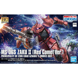 HG 1/144 MS-06S ZAKU III PRINCIPALITY OF ZEON CHAR AZNABLE'S MOBILE SUITS Red Comet Ver.