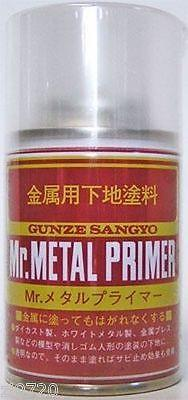Mr Hobby Metal Primer 100ml Spray B504 Gunze GSI Creos Paint Primer