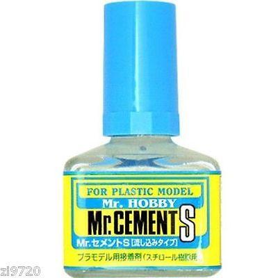 MR HOBBY Gunze MC129 Cement Glue S Extra Thin Non-Corrosive 40ml
